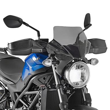 Givi A3111 Motorcycle Screen Suzuki SV650 2016 on Smoke