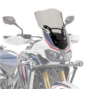 Givi D1144S Motorcycle Screen Honda CRF1000L Africa Twin 16 on Smoked