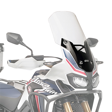 Givi D1144ST Motorcycle Screen Honda CRF1000L Africa Twin 16 on Clear