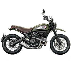 Ducati Scrambler Motorcycles Parts and Accessories