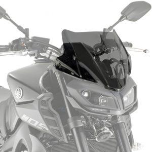 Givi A2132 Motorcycle Screen Yamaha MT09 2017 on Smoke
