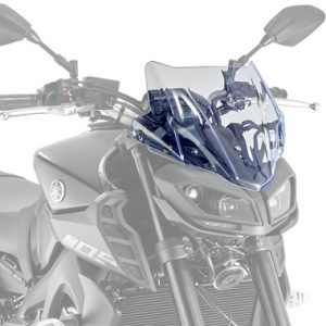 Givi A2132BL Motorcycle Screen Yamaha MT09 2017 on Blue