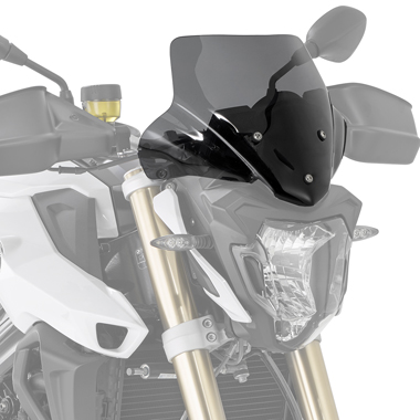 Givi A5118 Motorcycle Screen BMW F800 R 2015 on Smoked