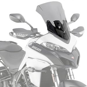 Givi D7406S Motorcycle Screen Ducati Multistrada 950 17 on Smoke