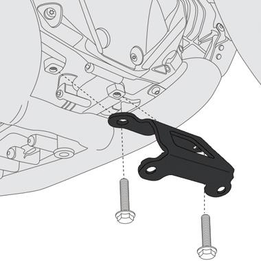 Givi RP5117KIT Oil Cartridge Guard Fitting Kit