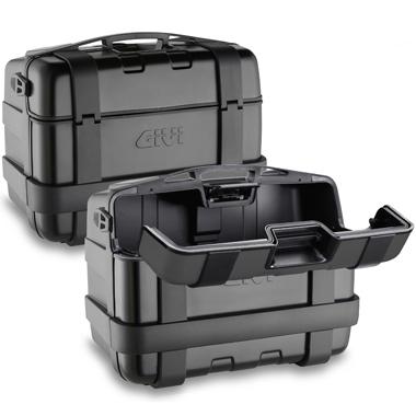 Givi TRK46BPACK2 Trekker Monokey Cases Black Line 46 Litre