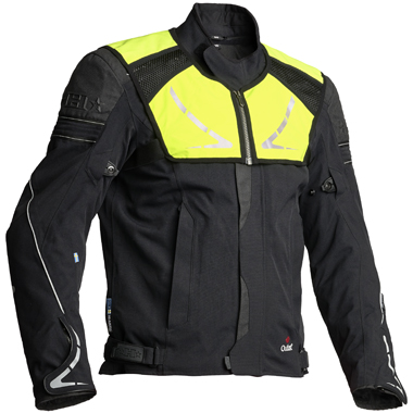 Halvarssons Walkyr Laminate Motorcycle Jacket Black