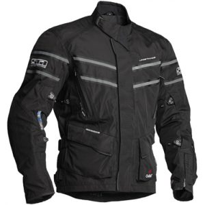 Lindstrands Luxor Laminate Motorcycle Jacket Black