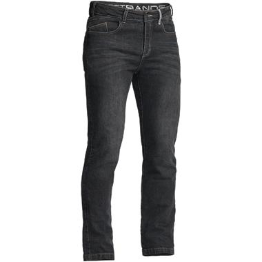 Lindstrands Mayson Motorcycle Jeans Black Short Leg