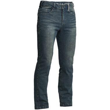 Lindstrands Mayson Motorcycle Jeans Blue