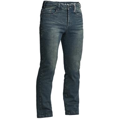 Lindstrands Mayson Motorcycle Jeans Blue Short Leg
