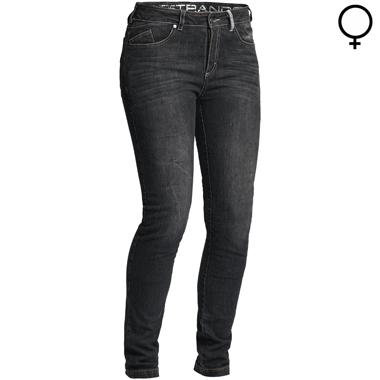 Lindstrands Mayson Lady Motorcycle Jeans Black