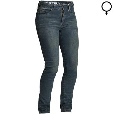 Lindstrands Mayson Lady Motorcycle Jeans Blue