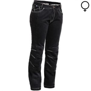 Lindstrands Wrap Lady Motorcycle Jeans Black