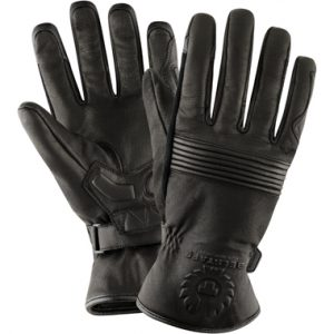 Belstaff Cairn Goatskin Motorcycle Gloves Black