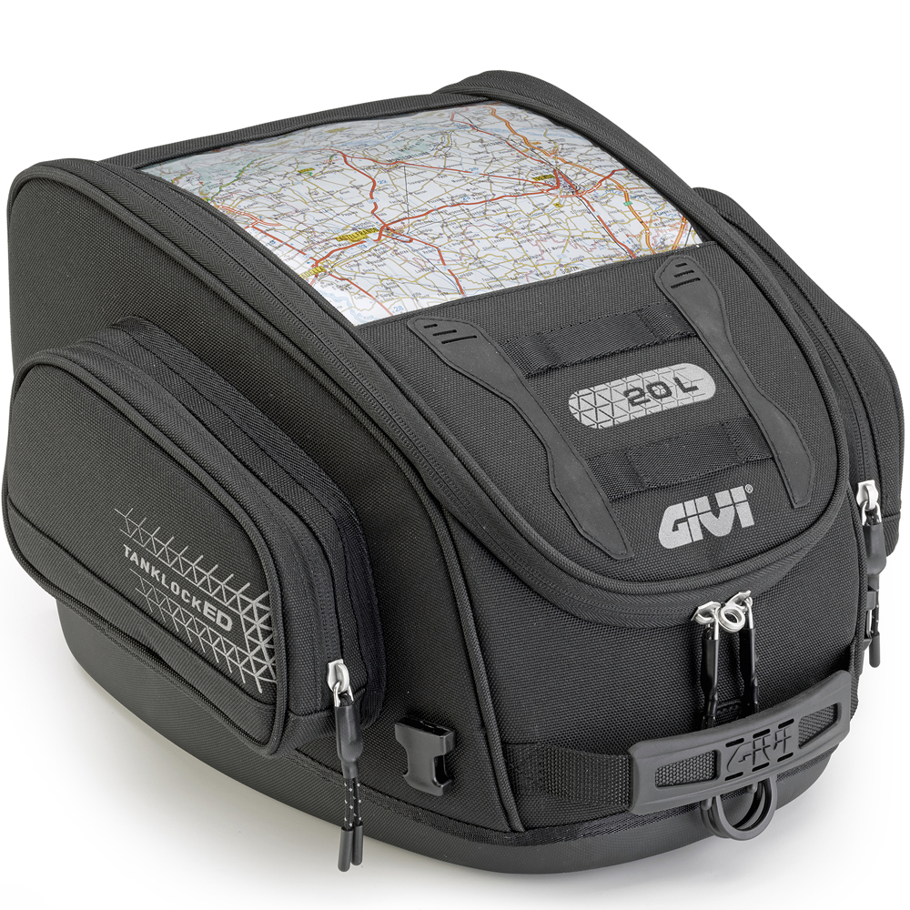 Givi UT809 Tanklocked Motorcycle Tank Bag 20 Litre
