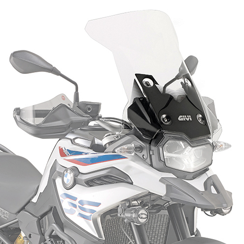 Givi D5127ST Motorcycle Screen BMW F750GS 2018 on Clear