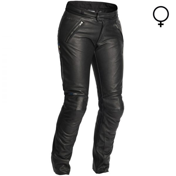 Halvarssons C Pants Waterproof Leather Motorcycle Trousers Lady