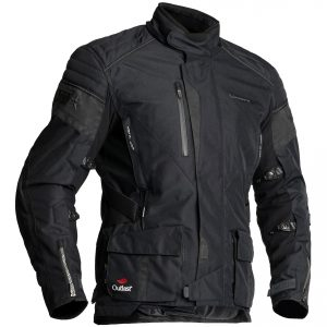 Halvarssons Wien Textile Motorcycle Jacket Black