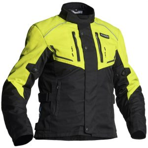 Jofama Neptune Textile Motorcycle Jacket Black Yellow