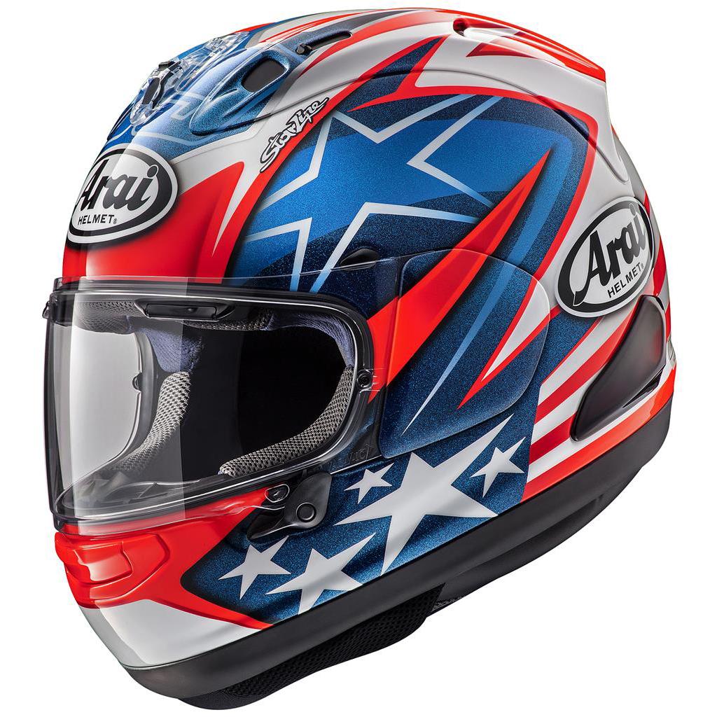 Arai RX7V Motorcycle Helmet Hayden WSBK