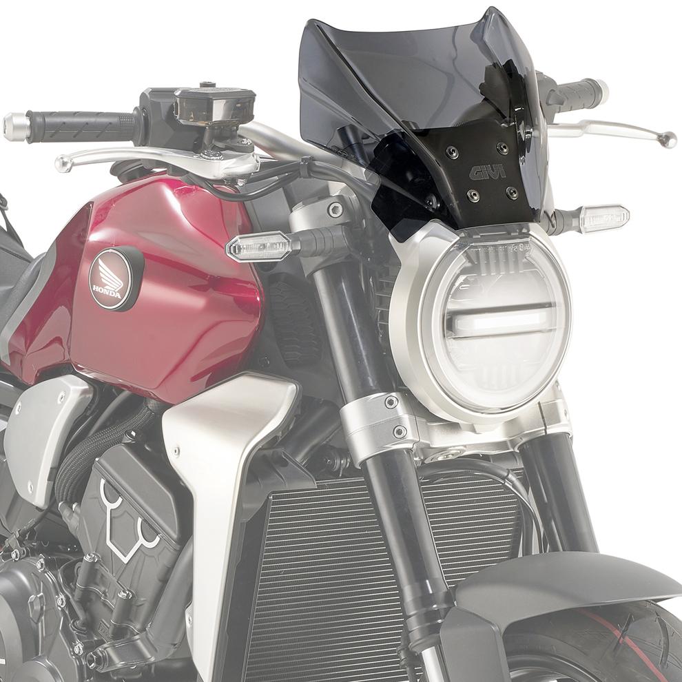 Givi A1165 Motorcycle Screen Honda CB1000 R 2018 on Smoke