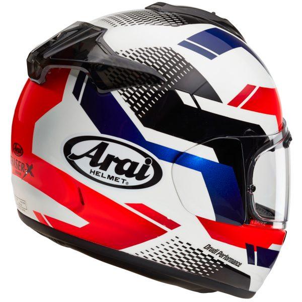 Arai Chaser X Motorcycle Helmet Cliff White