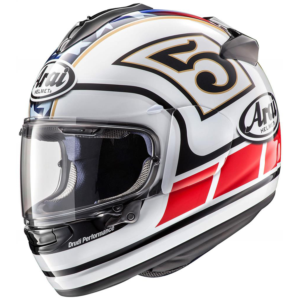 Arai Chaser X Motorcycle Helmet Edwards Legend White