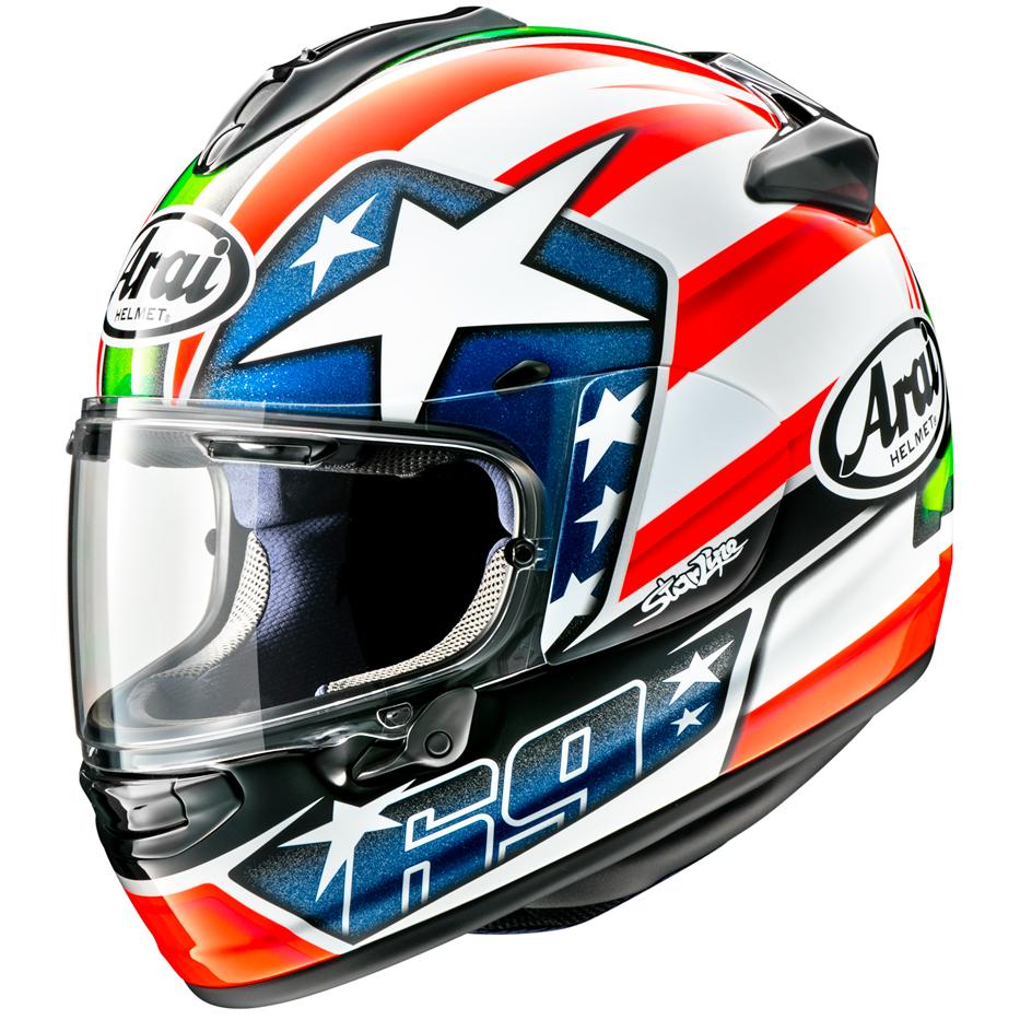 Arai Chaser X Motorcycle Helmet Hayden WSBK