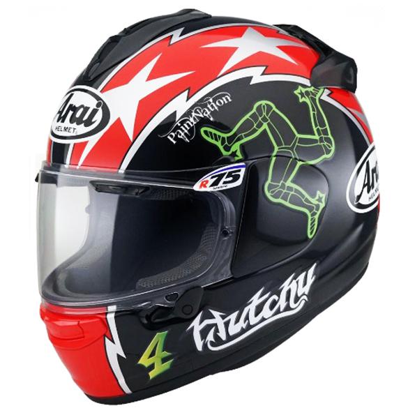 Arai Chaser X Motorcycle Helmet Hutchy TT