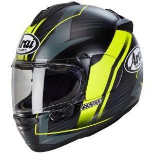 Arai Chaser X Motorcycle Helmet Xenon Fluorescent Yellow