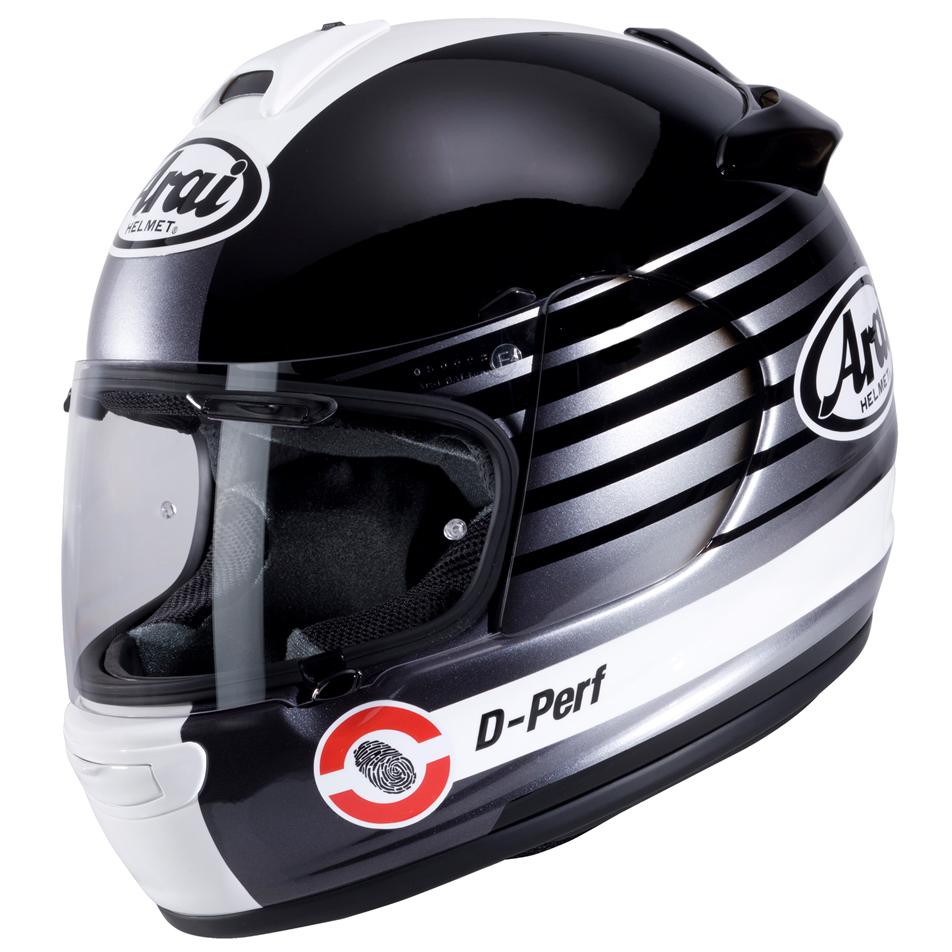 Arai Debut Motorcycle Helmet Page Silver