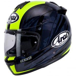Arai Debut Motorcycle Helmet Blast Fluorescent Yellow