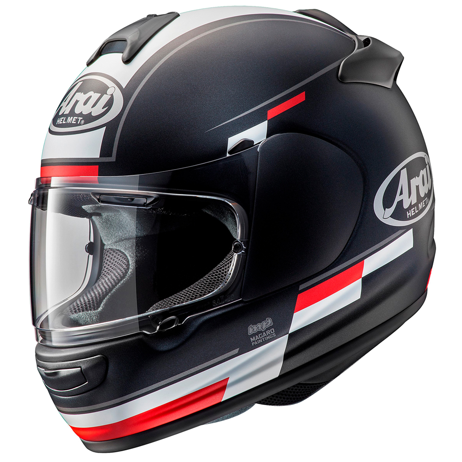 Arai Debut Motorcycle Helmet Blaze Black White