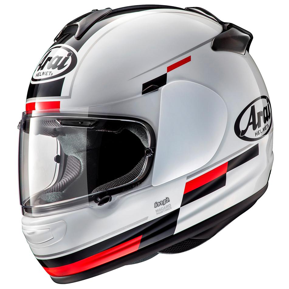 Arai Debut Motorcycle Helmet Blaze White Black