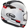 Arai Debut Motorcycle Helmet Blaze White Black back view