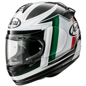 Arai Debut Motorcycle Helmet Flag Italy