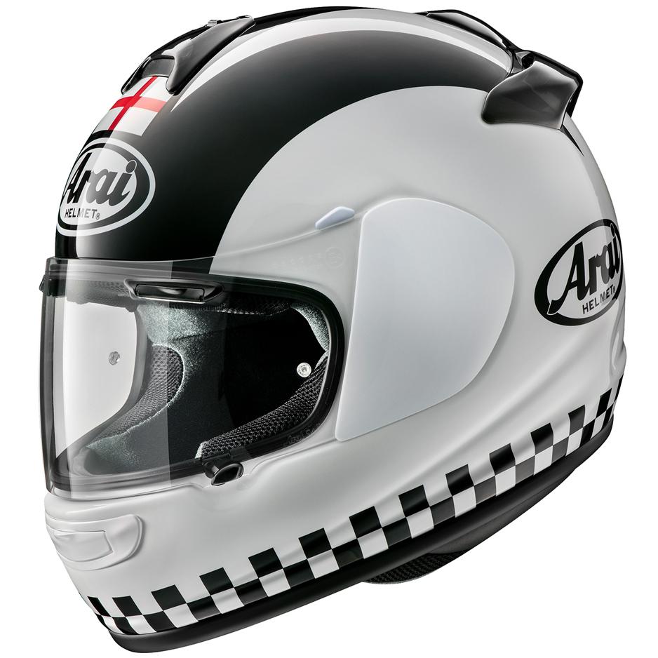 Arai Debut Motorcycle Helmet Flag George Cross