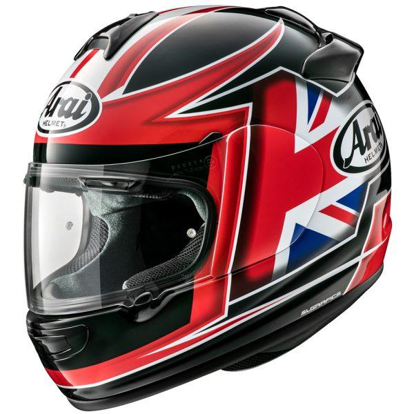Arai Debut Motorcycle Helmet Flag UK