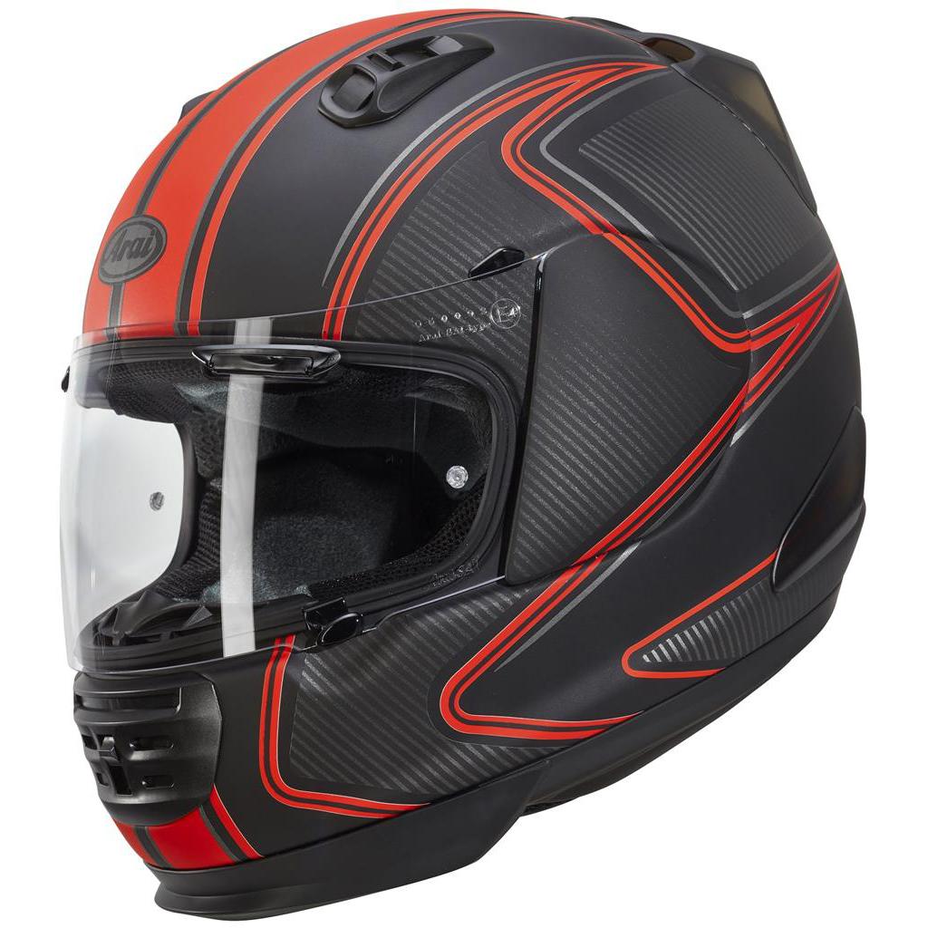 Arai Renegade V Motorcycle Helmet Diablo Red