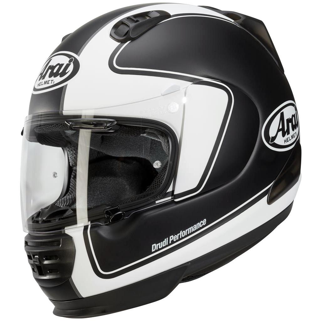 Arai Renegade V Motorcycle Helmet Outline Frost Black