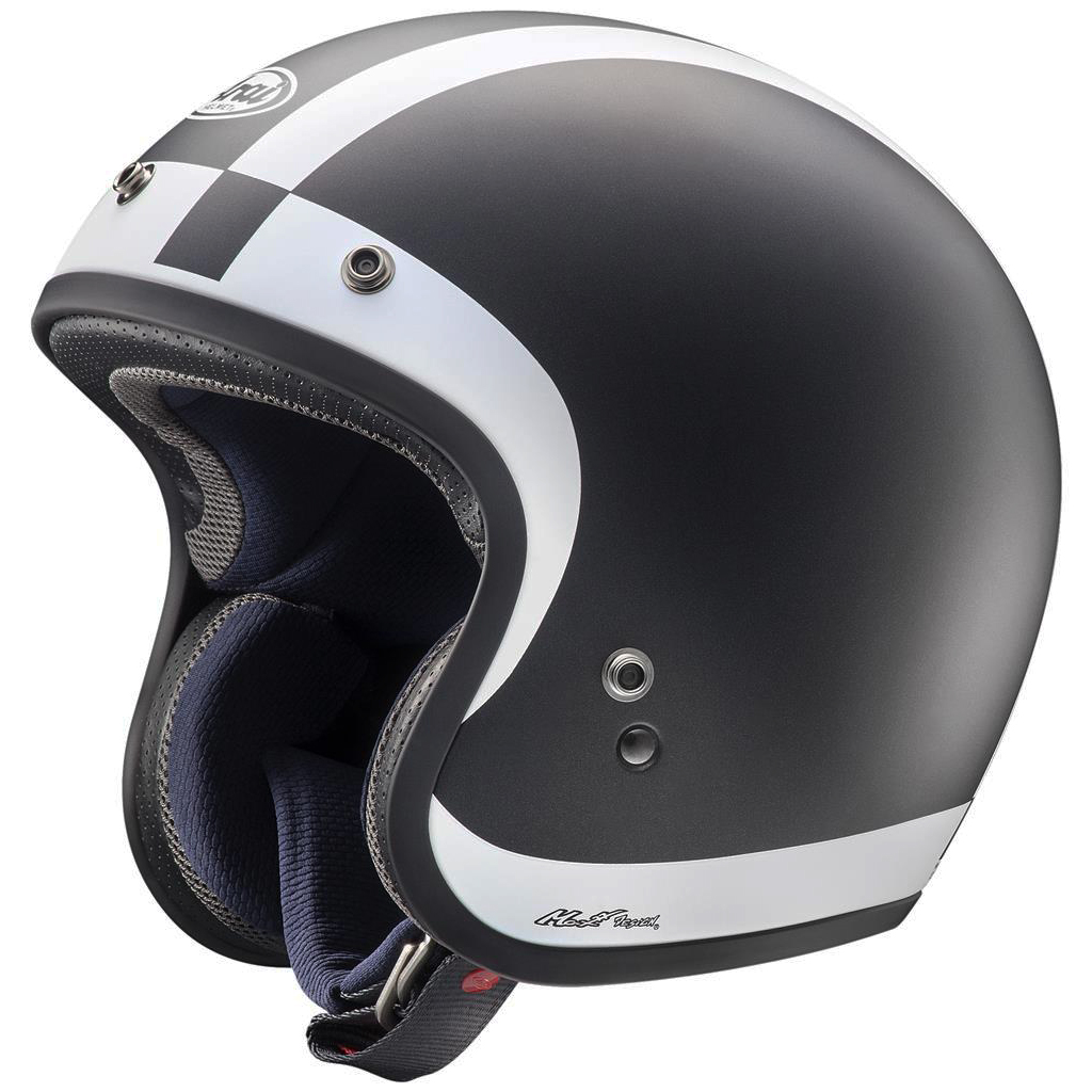 Arai Freeway Classic Open Face Motorcycle Helmet Halo Black