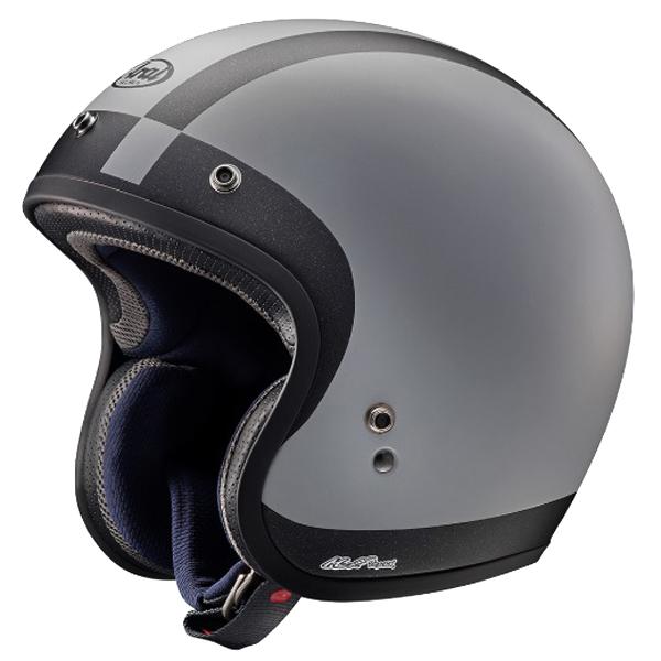Open Face Motorcycle Helmet Halo Black