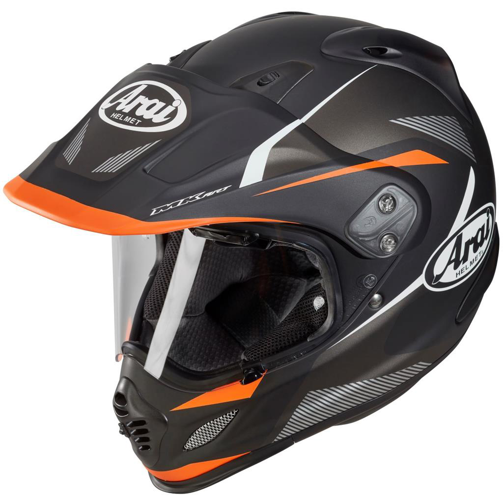 Arai Tour X4 Adventure Motorcycle Helmet Break Orange