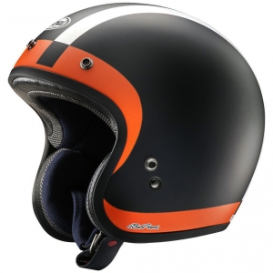 Arai Freeway Classic Open Face Motorcycle Helmet Halo Orange