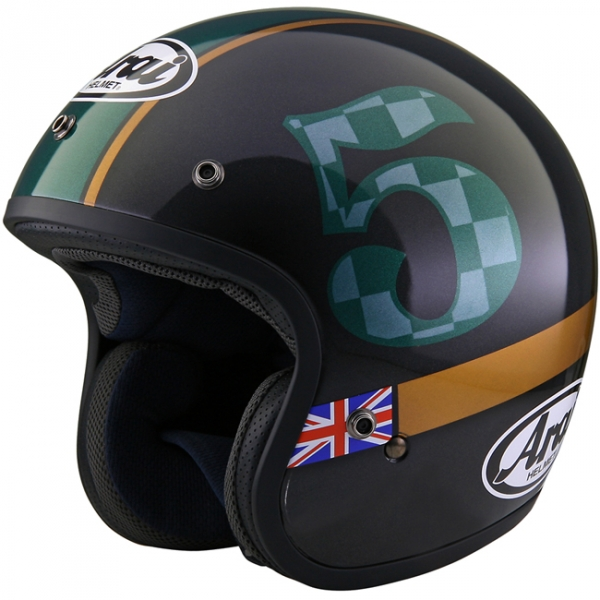 Arai Freeway Classic Open Face Motorcycle Helmet Union