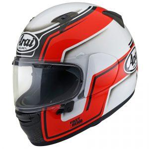 Arai Profile V Motorcycle Helmet Bend Red