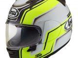 Arai Profile V Motorcycle Helmet Bend Yellow