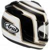 Arai Axces 3 Motorcycle Helmet Matrix Black right side view