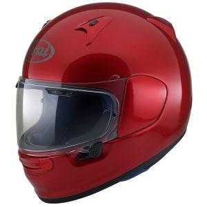 Arai Profile V Motorcycle Helmet in Calm Red